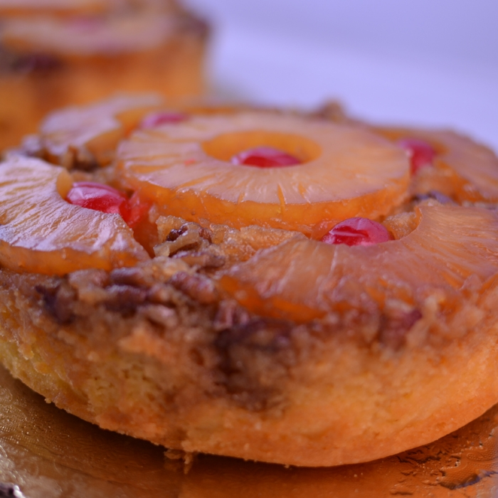 upside down cake mango upside down cake with macadamia nut recipe key ...